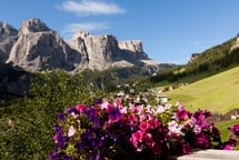 Cordial hospitality in the enchanted Dolomites